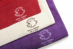 Ręcznik duży z foką
