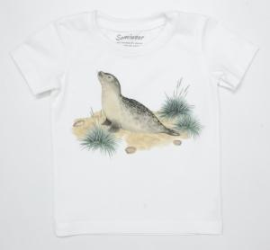 T-shirt dziecięcy bez falbanki