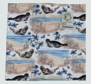 Komin bawełniany z fokami