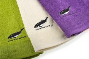 Ręcznik duży z morświnem
