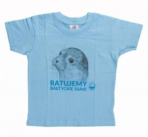 Koszulka dziecięca z foką