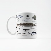 Kubek z rybami